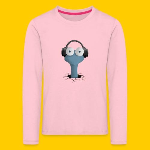 Musicworm - Långärmad premium-T-shirt barn