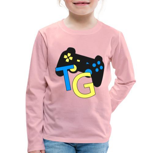 logoTG - Koszulka dziecięca Premium z długim rękawem