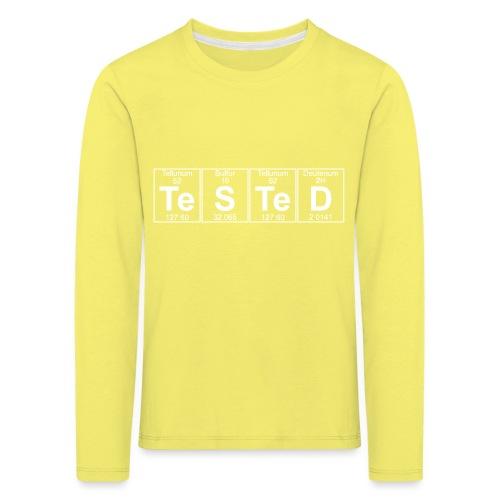 Te-S-Te-D (tested) (small) - Kids' Premium Longsleeve Shirt