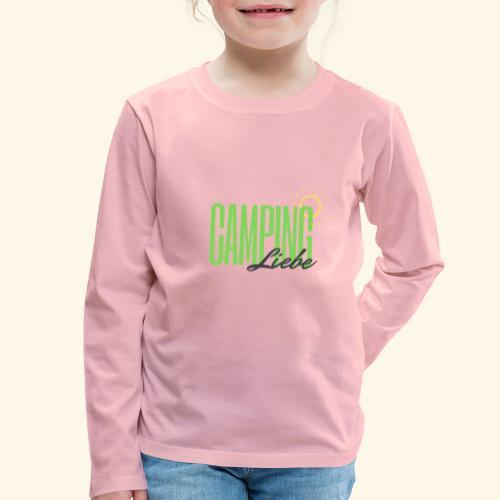 Campingliebe - Kinder Premium Langarmshirt