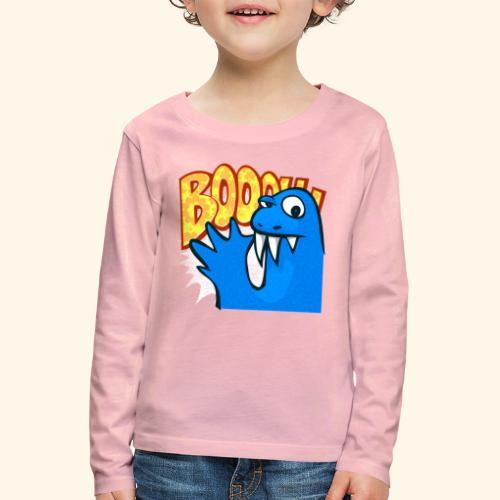 boooh! - Kinder Premium Langarmshirt