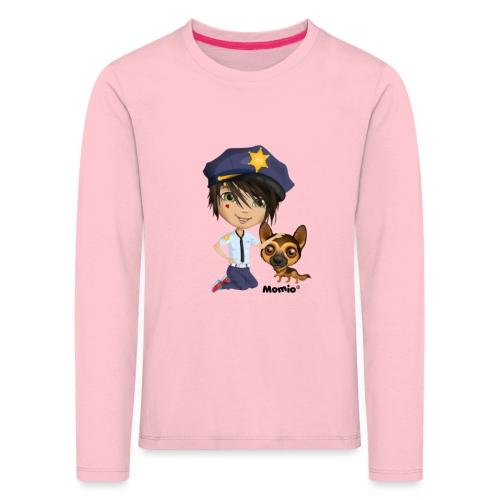 Jack und Hund - von Momio Designer Cat9999 - Kinder Premium Langarmshirt