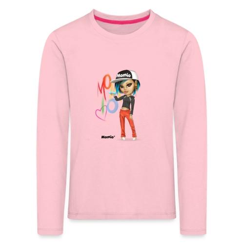 Maya - autorstwa Momio Designer Cat9999 - Koszulka dziecięca Premium z długim rękawem