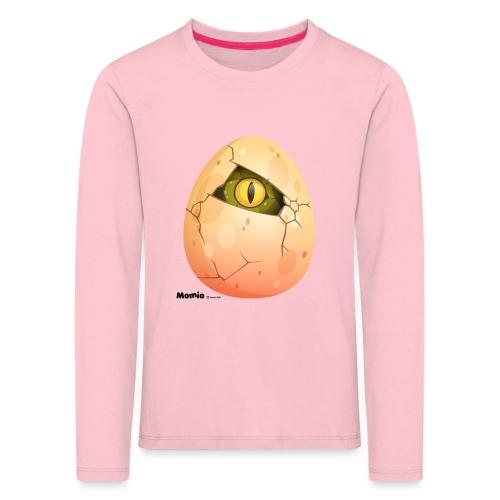 Ei - Kinder Premium Langarmshirt