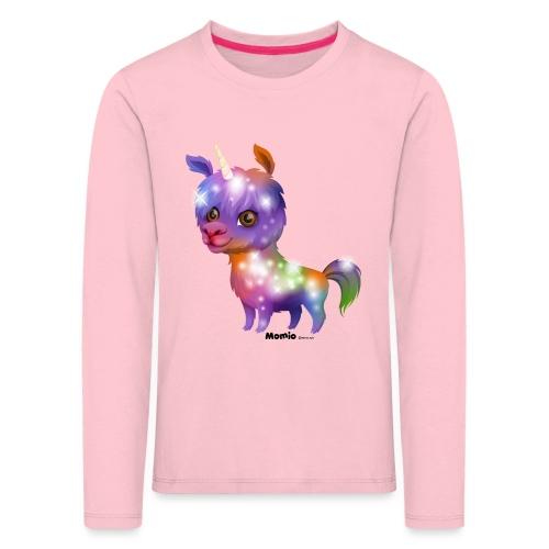 Llamacorn - Premium langermet T-skjorte for barn