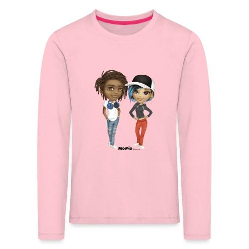 Maya i Noa - Koszulka dziecięca Premium z długim rękawem