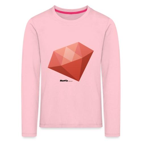 Diament - Koszulka dziecięca Premium z długim rękawem