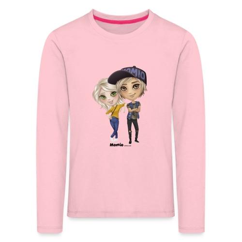 Emily & Lucas - Premium langermet T-skjorte for barn