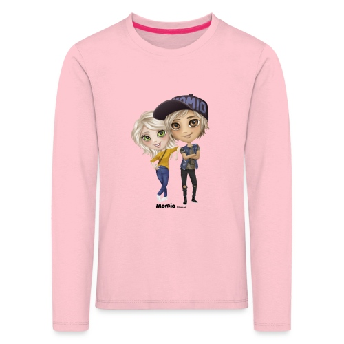Emily i Lucas - Koszulka dziecięca Premium z długim rękawem