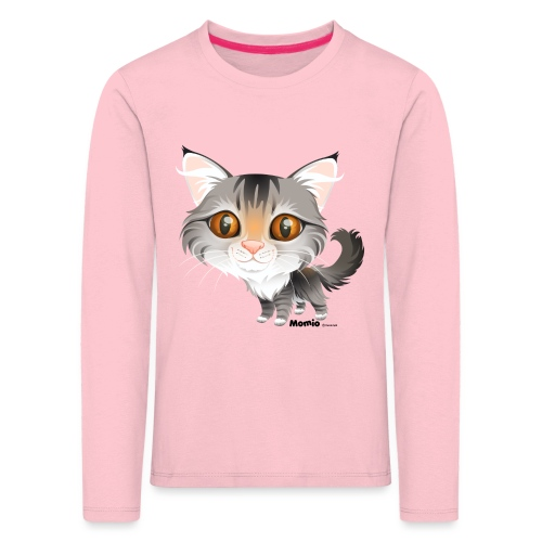Katze - Kinder Premium Langarmshirt