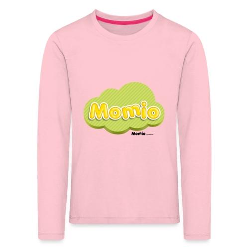 Logo Momio - Koszulka dziecięca Premium z długim rękawem
