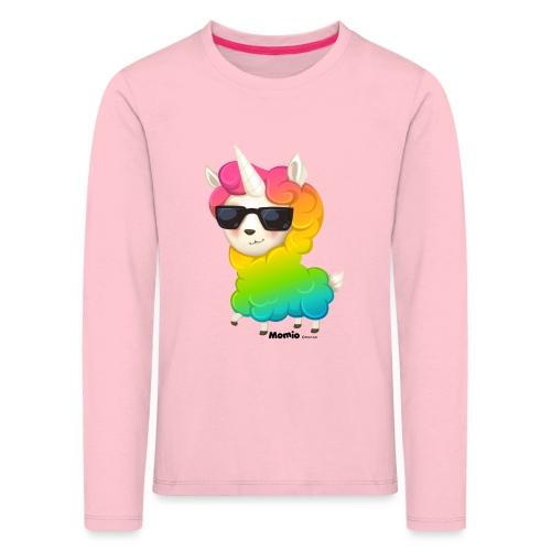 Regenbogenanimation - Kinder Premium Langarmshirt