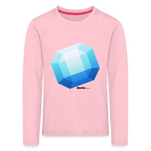 Safir - Premium langermet T-skjorte for barn