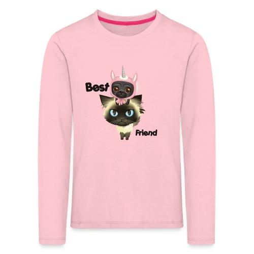 Najlepszy przyjaciel brightsoull. - Koszulka dziecięca Premium z długim rękawem