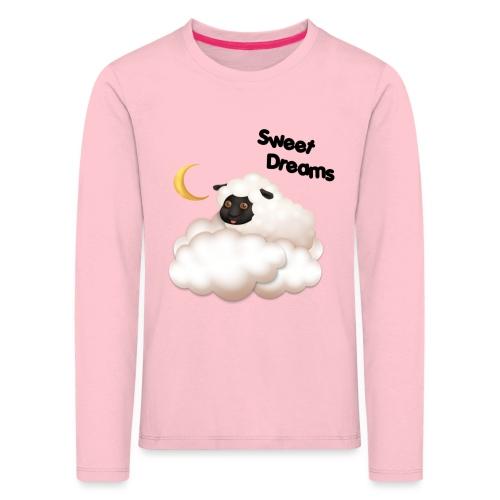 Słodkie sny wykonane przez SMA Frodik - Koszulka dziecięca Premium z długim rękawem