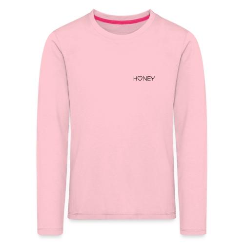 Honey - Kinder Premium Langarmshirt