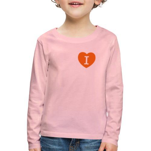 I - LOVE Heart - Kids' Premium Longsleeve Shirt
