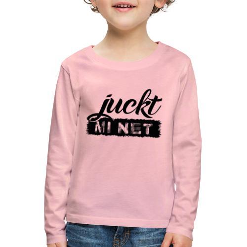 juckt mi net - Kinder Premium Langarmshirt