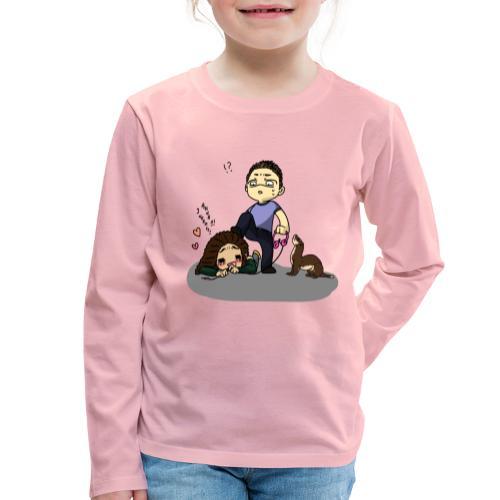 Zostaw mój komputer w spokoju. - Koszulka dziecięca Premium z długim rękawem
