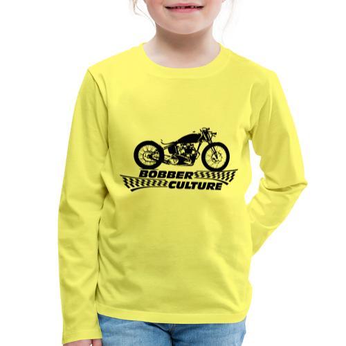 Bobber Culture - Camiseta de manga larga premium niño