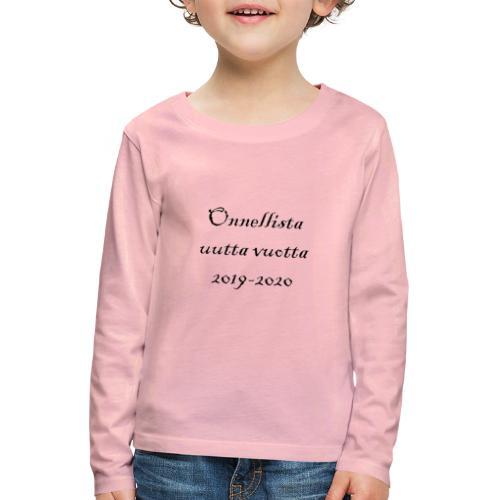 Jouluinen - Lasten premium pitkähihainen t-paita