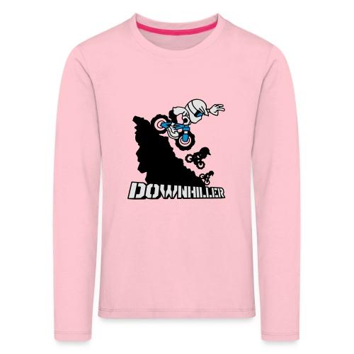 Downhiller - Kinder Premium Langarmshirt