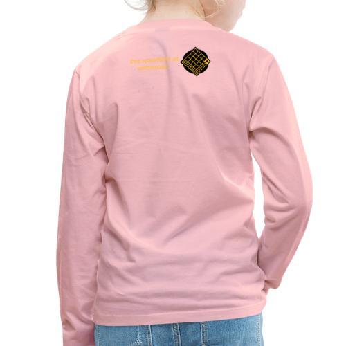 TIAN GREEN Welt Mosaik Shirt - Logo 2020 - Kinder Premium Langarmshirt