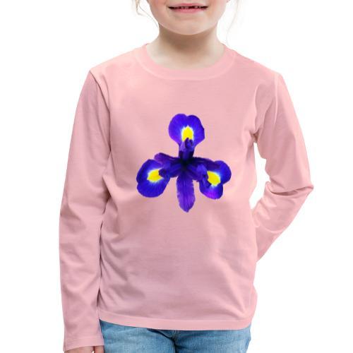 TIAN GREEN Garten - Iris 2020 01 - Kinder Premium Langarmshirt