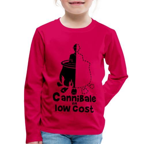 Cannibale en Low Cost - T-shirt manches longues Premium Enfant