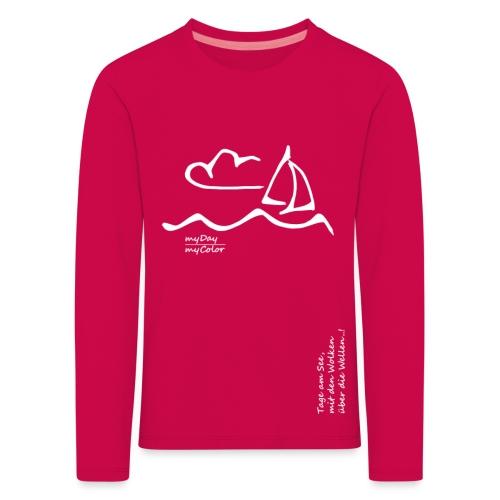Über die Wellen!.. - Kinder Premium Langarmshirt