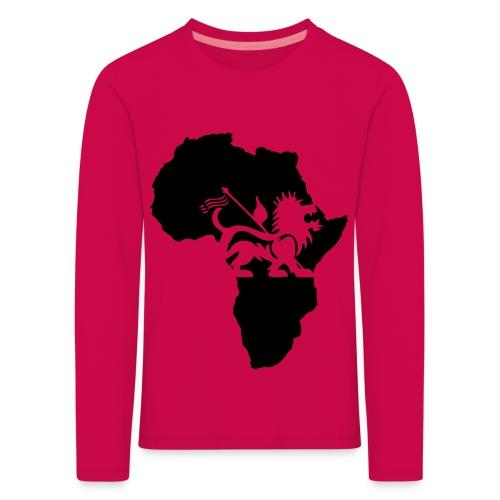 lion_of_judah_africa - Kids' Premium Longsleeve Shirt
