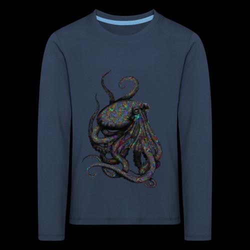Oktopus Goa - Kinder Premium Langarmshirt