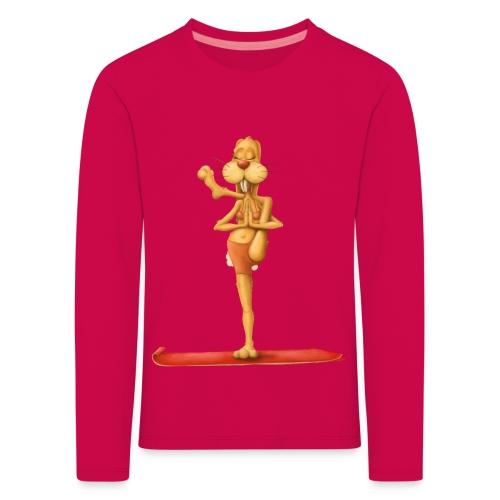 Yoga - Rabbit - Kinder Premium Langarmshirt