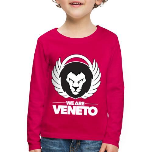 We Are Veneto - Maglietta Premium a manica lunga per bambini