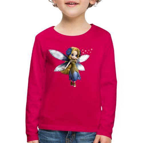 Blue-Sternchen Fairy - Kinder Premium Langarmshirt