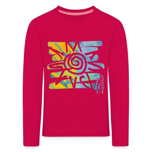SunRise - Kinder Premium Langarmshirt
