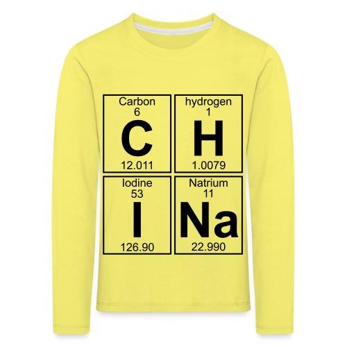 C-H-I-Na (china) - Full - Kids' Premium Longsleeve Shirt