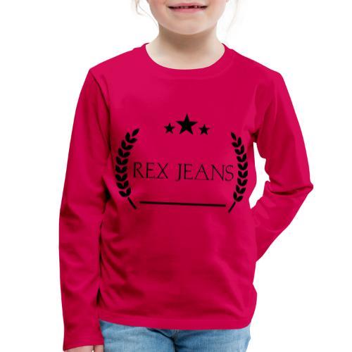 Rex Jeans - Kinder Premium Langarmshirt