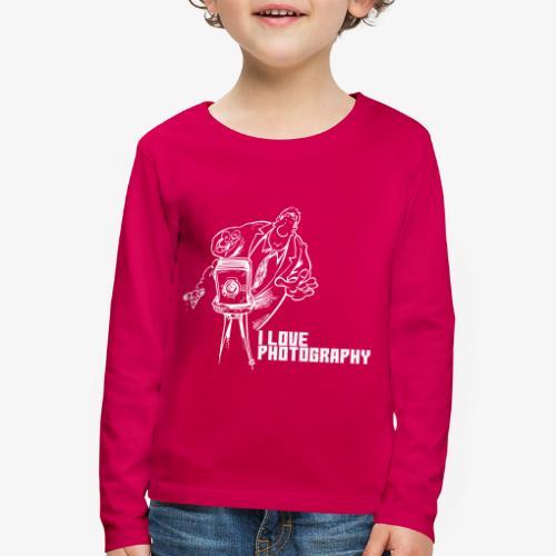 Photography 008 - Camiseta de manga larga premium niño