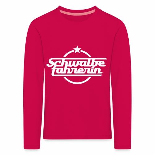 Schwalbefahrerin - Kids' Premium Longsleeve Shirt