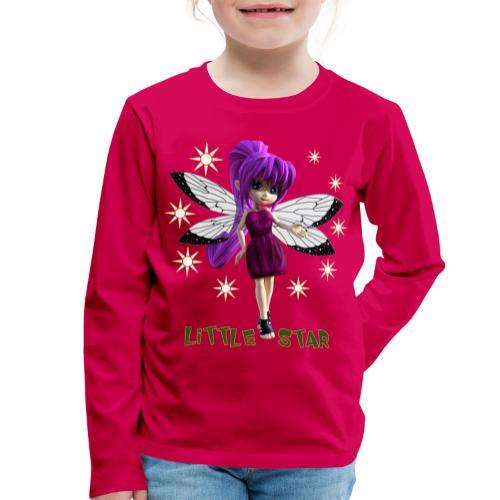 Little Star - Fairy - Kinder Premium Langarmshirt