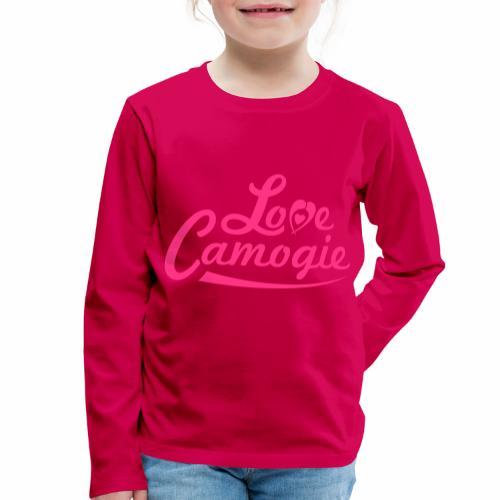Love Camogie - Kids' Premium Longsleeve Shirt