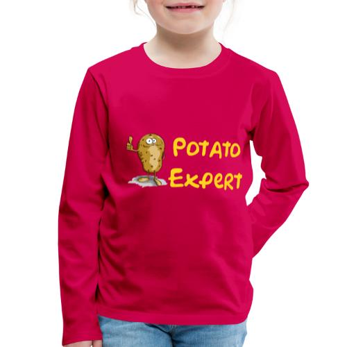 SMT potato expert - Maglietta Premium a manica lunga per bambini