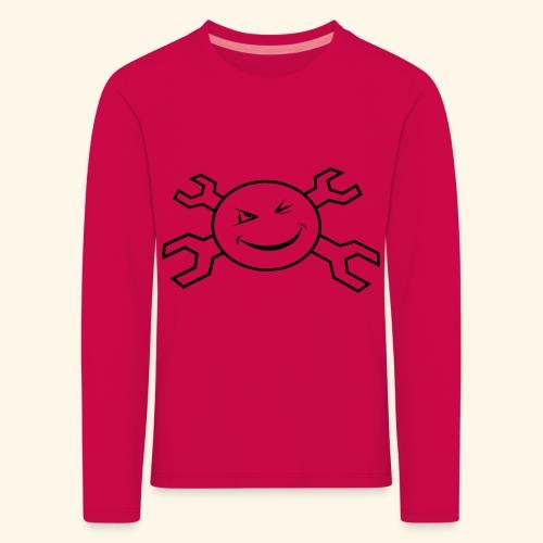 logo_atp_black - Kids' Premium Longsleeve Shirt