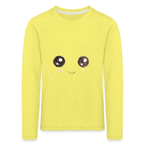 Kids for Kids: Smiling Face - Kinder Premium Langarmshirt