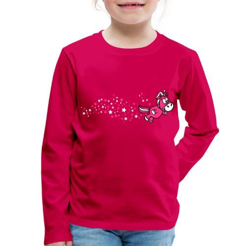 Pferdchen Sternenstaub - Kinder Premium Langarmshirt