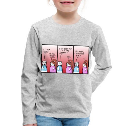 orage - T-shirt manches longues Premium Enfant