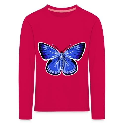 vlinder2_d - Kinderen Premium shirt met lange mouwen