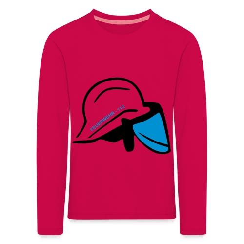 Feuerwehr Helm - Kinder Premium Langarmshirt