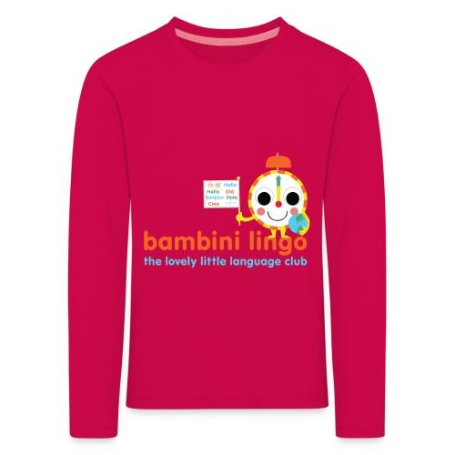 bambini lingo - the lovely little language club - Kids' Premium Longsleeve Shirt